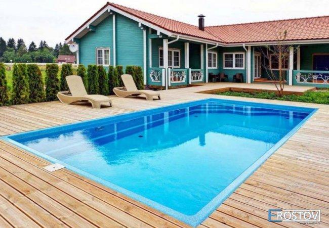 Строительство композитных бассейнов